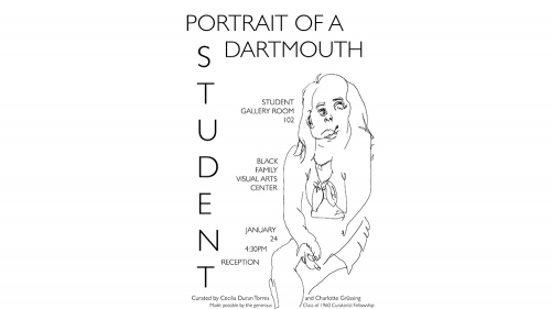 Portrait of a Dartmouth student
