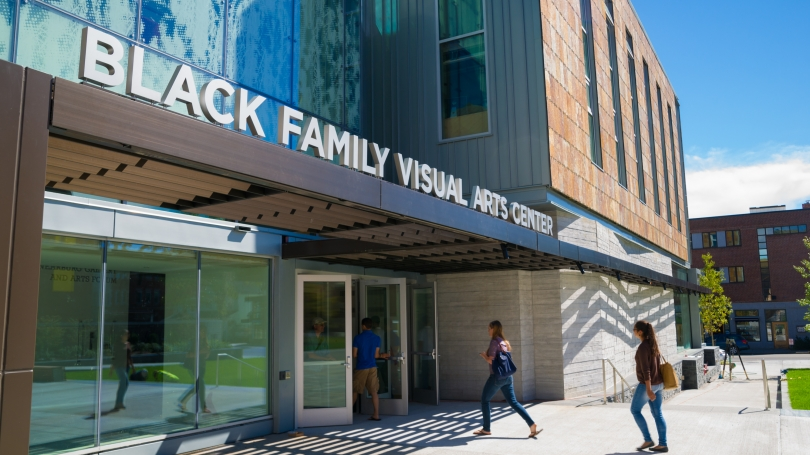 Exterior Shot of Black Family Visual Arts Center